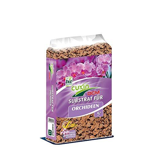 CUCIN Substrat für Orchideen 5 Ltr. - mit Pinus MARITIMA Rindenstückchen für eine optimale Drainage
