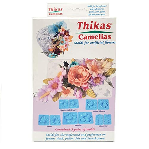 Renkalik RENKALIKSTA032 Camelia Fommy Thikas Stampo Craft Kit (5Pezzi)