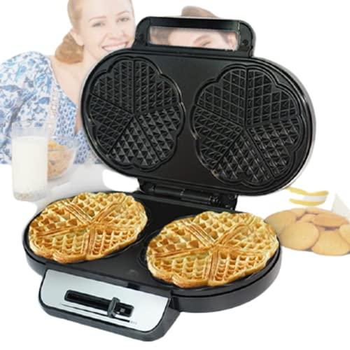Gofrera Eléctrica   1200W   Antiadherente Para Una Fácil Limpieza   Cocina Gofres Belgas Caseros Para El Desayuno/Postre