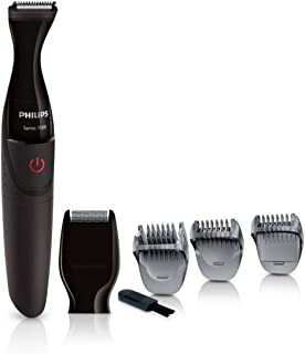 Philips Multigroom Series 1000 Ultra Precise Beard Styler with DualCut Technology for Men - MG1100