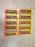 NERF Recon CS-6 Dart Blaster Barrel Extensions (Includes 10 Barrels)