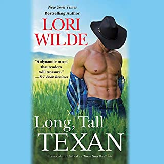Long, Tall Texan (previously published as There Goes the Bride)                   By:                                                                                                                                 Lori Wilde                               Narrated by:                                                                                                                                 Courtney Patterson                      Length: 9 hrs and 23 mins     4 ratings     Overall 4.8