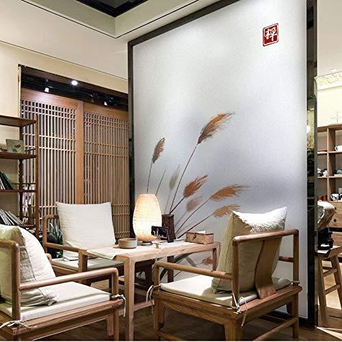YSHUO raamstickers vensterbank slaapkamer doorschijnend ondoorzichtig Chinese badkamer woonkamer badkamer decoratie glasfolie