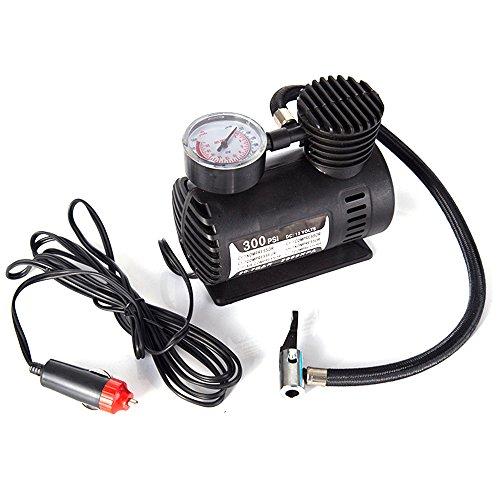 Auto-mini-elektrische opblaaspomp, draagbare banden, 300 psi, compressor, pomp voor auto, fiets, motorfiets