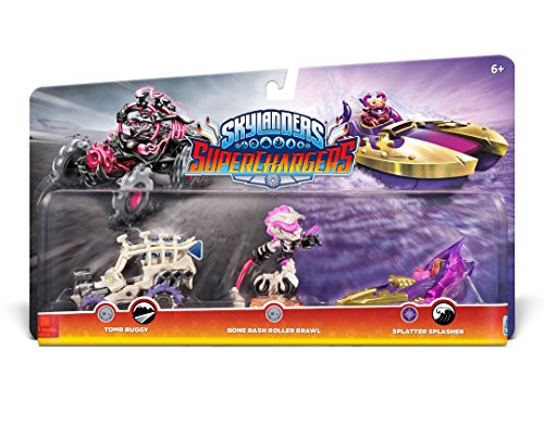 Skylanders Superchargers: Multi Pack 2 (Bone Bash Roller Brawl, Tomb Buggy, Splatter Splasher)