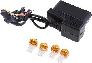figatia 12V / 36V a 5V / 2A Car Dash Cam Hardwire Adapter Kit Cabo de Alimentação OBD