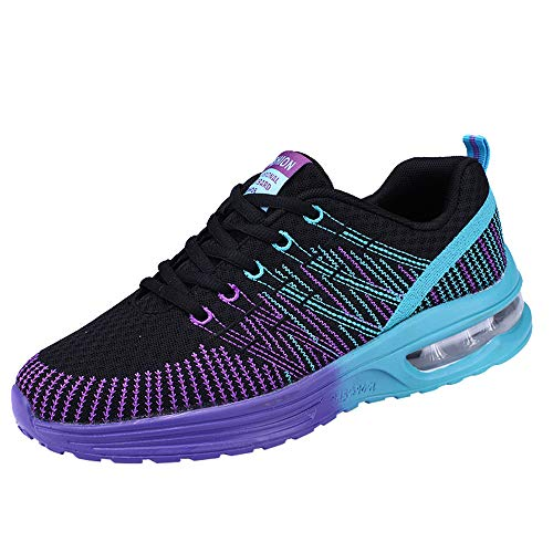 Manadlian Chaussures de Sport Hommes Femmes Basket Fitness Athlétisme Air Trainers Léger et Respirant Chaussures de Running