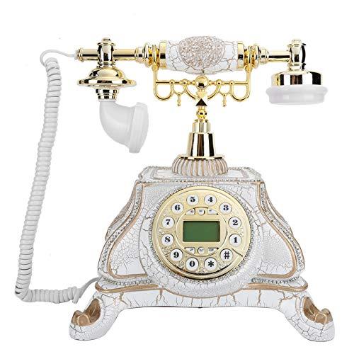 Teléfono Retro, teléfono Fijo Antiguo Tradicional Europeo para Regalos, Sala de Estar, cabecera de Dormitorio, Sala de Estudio, Hotel