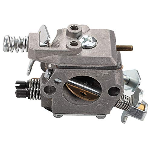 Mckin 545081885 Carburetor with Air Filter Oil Fuel Cap fits Poulan Wild Thing Woodshark Predator 1950 1975 2375 2375LE 2050 2055 2150 2075 2075C 2550 2025 2250 262 260 2550 PP260 Chainsaw Parts