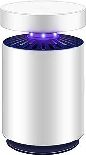 WUZMING-Lámpara del Mosquito Recargable Inhalado Interfaz USB Un Interruptor De Botón Interior Onda De Luz Captura Mudo Caja De Almacenamiento De Mosquitos Plástico ABS