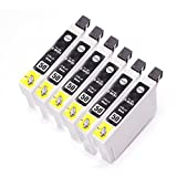 むさしのメディア EPSON(エプソン) ICBK50 (6個セット) 互換インクカートリッジ ICチップ付き 残量表示対応