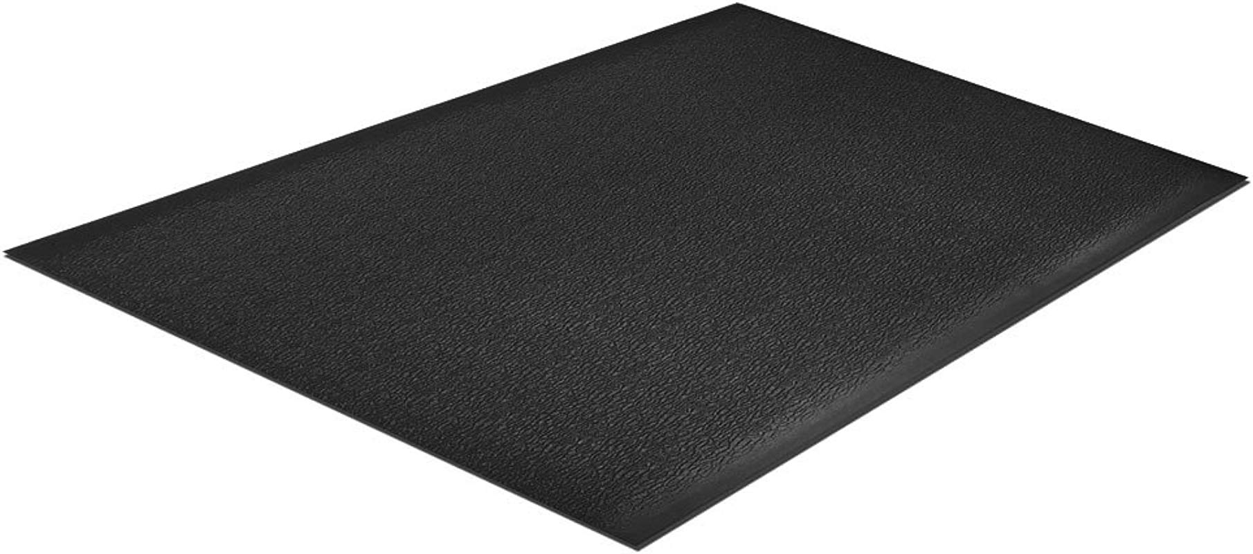 Comfort Step 3 8 Anti Fatigue Mat With Pebble Emboss Solid Black 3 X 5