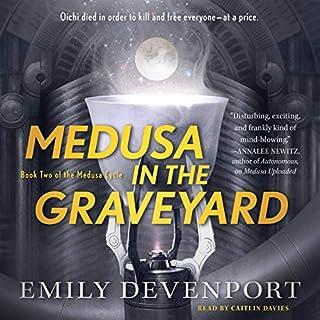 Medusa in the Graveyard cover art