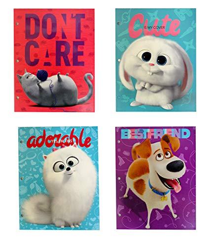 "Secret Life of Pets 2 Pocket Portfolio, 11.75"" x 9.5"", Assorted, 24pc Value Pack"