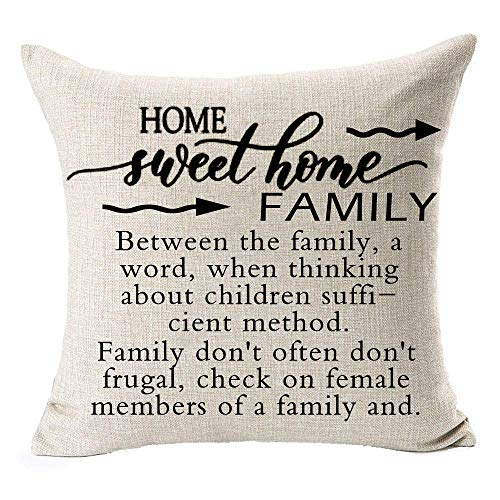 Mother's Day or Father's Day Birthday Gift Best Mom Throw Pillow Case Cushion Cover Pillow case 18X18 In