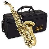 Jean Paul USA Soprano Saxophone, Gold (SS-400GP)