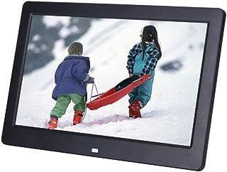 FEE-ZC 10 Inch Digital Photo Frame, 1024X600 Resolution Human Body Induction HD Display Music Video Player Wall-Mounted Gi...
