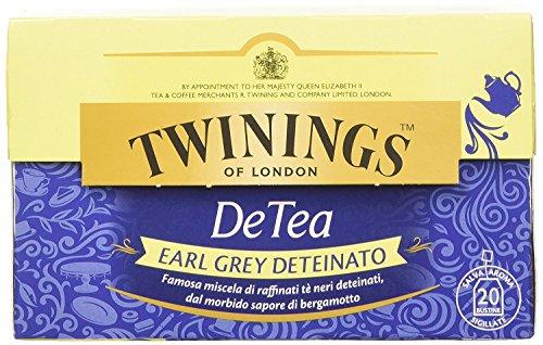 Twinings - Tè Deteinato DeTea - Earl Grey (20 Bustine)