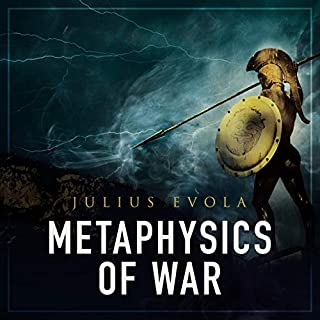 Metaphysics of War audiobook cover art