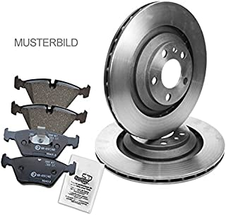 Bremsscheiben Belüftet Ø 257 MM + Bremsbeläge Bremsklötze vorne