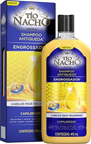Shampoo Antiqueda Engrossador 415 Ml, Tio Nacho