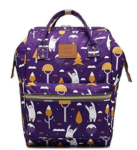 beibao shop Backpack Sacs à Dos pour Ordinateur Portable Femme Simple Loisirs Grande capacité Extérieur Voyager Multi-Fonctionnel Sac à Dos d'ordinateur, 001