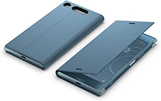 Sony SCSG50 Style Cover Flip for XZ1 (Blue) | Doubles as handy phone stand, Adjustable viewing angle, Protects against bum...