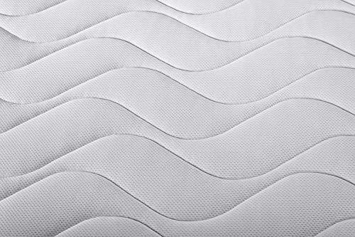 Materassimemory.eu - Materasso Molle insacchettate indipendenti Spring Basic Matrimoniale Mis. 160x190 Alto 22cm Anatomico, Ipoallergenico, Spedito Sottovuoto Arrotolato, 100% Made in Italy