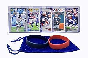 Randy Moss Football Cards (5) Assorted Bundle - Minnesota Vikings Trading Card Gift Set