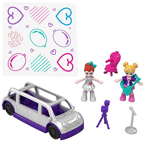 Polly Pocket Hidden in Plain Sight Dance Par-taay Case [Amazon Exclusive]