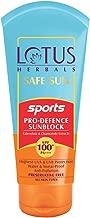 Lotus Herbals Safe Sun Sports Pro-Defence Sunblock Spf 100+ Pa+++, 80 g