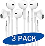 [100% Compatibility] The earbuds are compatible with all 3.5mm audio cable jack smartphones and devices, including the full range of SmartPhones,iPads,iPods,Samsung Galaxy and Note Series, Game console, MP3 MP4 music players, Nexus, HTC, laptops, tab...