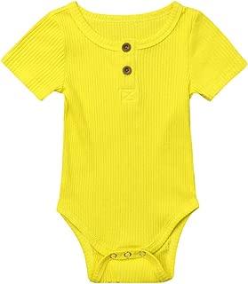 con dise/ño de Girasol WANGSGOGO Body para beb/é reci/én Nacido para Verano con Diadema Informal