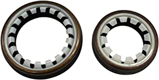 mewmewcat 2 unidades de vedação de óleo da caixa de transmissão do eixo de transmissão vedações de poeira 312144 312146 Co...