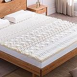 NOFFA 10 Zones Sur-Matelas en mousse à mémoire -Design ergonomique -Très respirant - soulager la Douleur ( 160 x 200 cm )