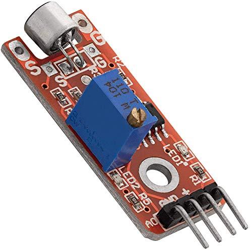 AZDelivery KY-038 Mikrofon Microphone Klangerfassungsmodul Voice-Ton Sensor inklusive eBook!