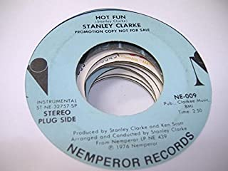STANLEY CLARKE 45 RPM Life Is Just a Game / Hot Fun