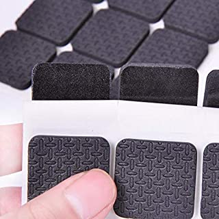 90 pcs Non Slip Furniture Pads Furniture Pad Best Furniture Grippers Selfadhesive Rubber Feet Furniture Floor Protectors f...