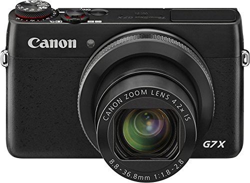 Canon PowerShot G7 X Digitalkamera (20,2 MP, 4,2x opt. Zoom, WiFi, NFC) schwarz
