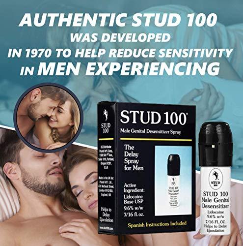 Stud 100 Male Genital Desensitizer Spray, 7/16- Fl. Ounce Box (Pack of 1