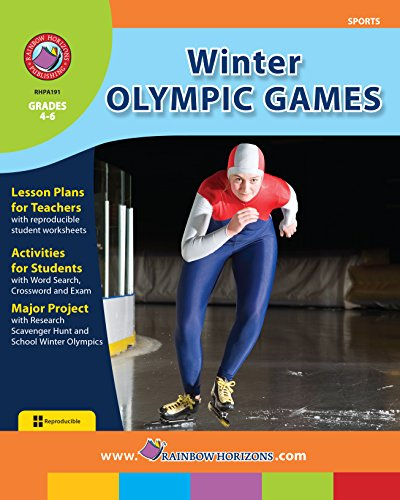 Winter Olympic Games Gr. 4-6 (English Edition)