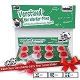 Werder Geschenk Set ist jetzt VERSTAND für Bremen-Fans | Fruchtgummi-Pralinen, hochdosiert | Für Schalke, Bayern & Fußball-Fans, denen der Verstand von Werder-Fans am Herzen liegt