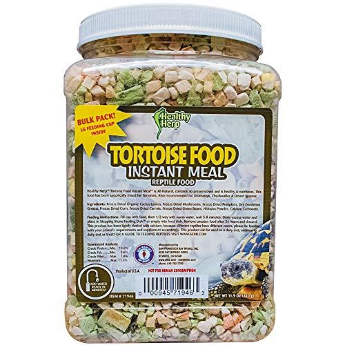 Healthy Herp Tortoise Food Instant Meal 7.7-Ounce (220 Grams) Jar
