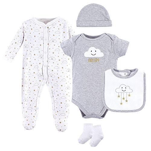 Layette Set, 5pc (Baby Boys or Baby Girls Unisex)