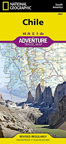 Chile: NATIONAL GEOGRAPHIC Adventure Maps: Travel Maps International Adventure Map
