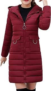 Coats For Women On Sale, Farjing Women Winter Sale Warm Coat Hooded Thick Warm Slim Jacket Long Overcoat