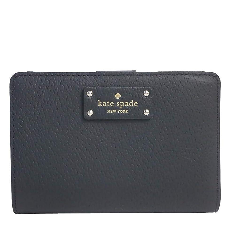 ジャベスウィルソン輪郭急速な[ケイトスペード] kate spade 財布 (二つ折り財布) WLRU2822 レザー 二つ折り財布 レディース [アウトレット品] [ブランド] [並行輸入品]