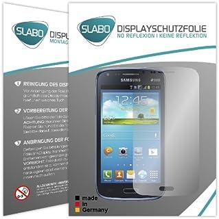 Slabo 2 x Protector de Pantalla para Samsung I8262 Galaxy Core Duos lámina Protectora No Reflexion | No Reflexiones Mate