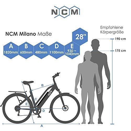 E-Trekking Bike NCM Milano Plus Bild 6*