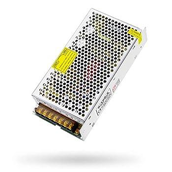 SHNITPWR 5V 20A Power Supply AC/DC Converter Adapter 110V / 240V AC to DC 5 Volt 20 Amp 100W Transformer LED Driver for WS2812B WS2811 WS2801 WS2813 SK6812 LED Pixel Strip Light Router CCTV Camera